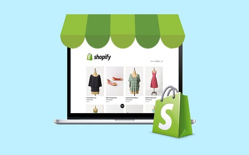 Ecommerce with Shopify.